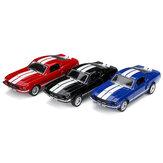 1:32 أشابة Fords Mustang GT 1967 GT500 عودة دييكاست سيارة نموذج لعبة للأطفال هدية