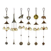 Wind Chimes Bells Lucky Fish Elephant Garden Outdoor Windows Hanging Ornament Decorations