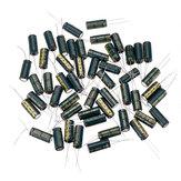 50pcs 16v 3300uf 10x25MM condensateur électrolytique radial basse fréquence ESR haute fréquence