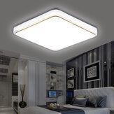 220V LED Luz de teto para lâmpada de sala de estar em casa 40x40 / 50x50cm
