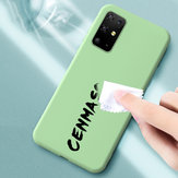 Bakeey Smooth Shockproof Soft Liquid Silicone Rubber Back Cover Protective Case for Samsung Galaxy S20 Ultra