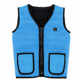 Children Kids 5V 3 Gears USB Heated Vest Electric Fast Heating Jacket Clothing