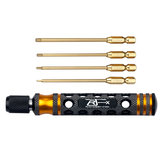 RJX 4 In 1 1.5/ 2.0/ 2.5/ 3.0mm Hex Screwdriver Repairing Tool For RC Models
