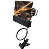 2 Inch Mobile Phone HD Projection Screen Magnifier Bracket Enlarge Holders With Speaker