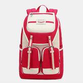Women Waterproof Nylon Large Capacity Backpack