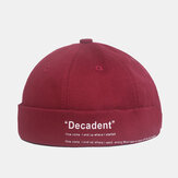 Udlejer Cap Dome Cap Innocent Plaid Sailor Cap