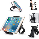3.5''-12'' Adjustable Universal Cycling Bike Portable Tablet Holder for Pad/Phone Indoor Gym Handlebar on Exercise Bike Treadmills