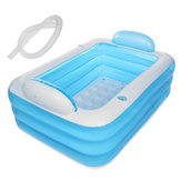 150/180cm Inflatable Swimming Pool Outdoor Summer Family Kids Paddling Pools Swimming Pools