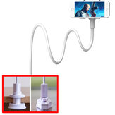 Evrensel Tembel Telefon Klip Stand Holder Kol Esnek Cep Telefonu Telefonlar için Stent Yatak Masaüstü Masa Klip Braketi