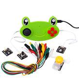 Kittenbot Scratch Makecode Kittenblock DIY Educational Program Robot Kit Voice Control Face Recognition Robot Parts
