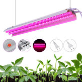 20W 96LED Grow Light Tube Full Spectrum Interior Planta lámpara Invernadero Doble tubo