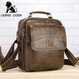 Genuine Leather Shoulder Bag Business Man Bag Messenger Bag for Men Crossbody Bag