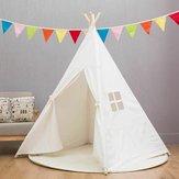 大きい木綿の子供のテントのテントの子供のWigwamの屋内屋外の演劇の家