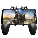 MEMO AK66 ستة أصابع All-in-One PUBG Mobile Game Controller Free Fire Key Button جويستيك غمبد L1 R1 PUBG Trigger للجميع