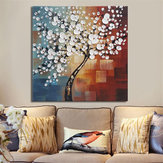 Framed Abstract Flower Tree Canvas Print Oil Paintings Picture Home Art Decorations