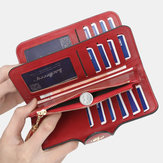 Multi-slots Long Wallet Card Phone Holder Purse For Women