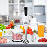 600Wポータブル電動ブレンダースティック泡立て器ジューサーミキサーハンドヘルド野菜肉挽き器フードチョッパー
