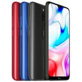 XiaomiRedmi8GlobalVersion6,22-calowy podwójny aparat tylny 3 GB 32GB 5000 mAh Snapdragon 439 Octa core 4G Smartphone