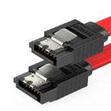 SAMZHE 3UX-05B Câble de données SATA 3Gbps SATA 2.0 mâle à mâle droit / incurvé / droit