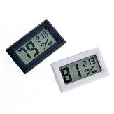 Bakeey Gauge Miernik temperatury Monitor Mini czarny termometr Wilgotność Higrometr LCD do inteligentnego domu