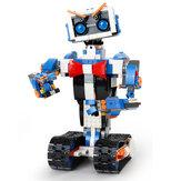 Form König DIY Smart RC Roboter 2,4G Block Gebäude Programmierbare APP / Stick / Sprachsteuerung Montiert Roboter Spielzeug