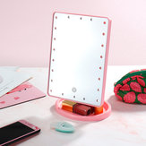 22 luz LED Vanity Maquillaje Mirror Light Table Mirror 360 ° R