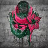 Dames Vintage bloemen elegante boa's en sjaals