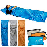IPRee® Camping Sleeping Bag Outdoor Travel Hiking Sleep Hostel Bag Sleeping Mat