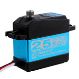 DSSERVO DS3225SG 25KG 180 ° / 270 ° Coreless ضد للماء Metal Gear رقمي Servo for Baja Cars 1/8 1/10 1/12 RC Cars
