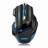 ZUOYA MMR3 Wired Mechanische Gaming Mouse 7 Tasten 5500DPI LED Optische USB-Maus Mäuse Game Mouse Still / Sound Mouse Für PC Computer Pro Gamer