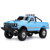 1/18 2.4G Mini Rock Crawler Off-road Indoor Truck RC Auto Waterdicht ESC Motor 3 Line Servo Voertuigmodellen