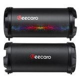 Beecaro S41B Altoparlante per basso stereo portatile bluetooth esterno con 1200mAh Batteria Supporto FM Radio Mic