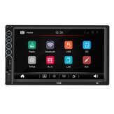 N6 7 pouces 2 Din Wince autoradio stéréo MP5 Player 1 + 16G Bluetooth GPS écran tactile HD NAV FM AUX USB Support Mobile Interconnection