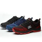 SapatosdeSegurançadoshomensTENGOO Sapatos de Trabalho de Aço Toe Não-Slip Respirável Sapatilhas Tênis de Corrida