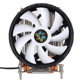 CPU Cooling Fan 12nm 6 Cooper Pipes 12 RGB Color Changer Air Cooler Fan for Intel 2011