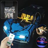 DIY LED Light Lighting Kit For LEGO 42083 Bugatti Chiron Technic Set With Remote