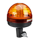 Amber 40 LED 12V-24V Nødvarsel Flash Strobe Roterende traktorlys Beacon Gjenoppretting Advarselssignallys