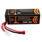 ZOP Power 14.8V 5000mAh 45C 4S Lipo Battery T Plug for RC Drone
