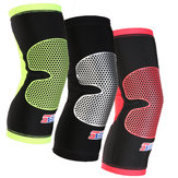 Shuoxin SXB22 1 ST Sport Knie Pad Ademend antislip Outdoor Basketbal Voetbal Fitness Knie Been Ondersteuning