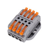 5pcs PCT-224A Quick Terminals Wire Connector Universal Terminal Block 32A