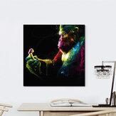 Miico Ручная Роспись Масло Картины Аннотация Colorful Горилла Wall Art Для Украшения Дома Картины