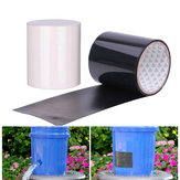 150x20cm PVCブラック/ホワイトスーパーフィックス強力な防水粘着テープパイプ修理テープ自己修正可能テープストップリークシール絶縁テープ