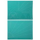 Deli 78402 1 pezzo A2 Griglia Tappetino da taglio autoguidante Durevole PVC Craft Card Tessuto Tagliere di carta in pelle Patchwork Strumenti