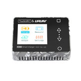 ToolkitRC & URUAV M600 150W 10A DC MINI Smart LCD 1-6S Lipo Battery Balance Charger Discharger With Voltage Servo Checker Receiver Signal Tester Quick Charger Function