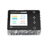 ToolkitRC & URUAV M600 V2 150W 10A DC MINI Smart LCD 1-6S Lipo Batterie Déchargeur de chargeur d'équilibre avec contrôleur de tension Servo Checker Récepteur Testeur de signal Fonction de chargeur rapide
