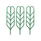 3Pcs Flower Planta Soporte de bastidor de soporte de cultivo Trellis Plantas Climbing DIY Vine Rack herramienta