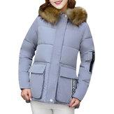 Femmes d'hiver épais manteau de coton