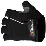 Bicycle Half Finger Black Gloves Mountain Bike Cycling Gloves