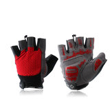 Inbike Cycling Gloves Half Finger Gloves -Male Black Red Blue
