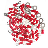 20Pcs 0.5-1.5mm² Ring Ground Insulated  Electrical Crimp Terminal